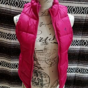 Girls down vest